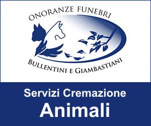 CREMAZIONE ANIMALI BULLENTINI E GIAMBASTIANI