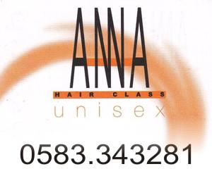 ANNA HAIR CLASS UNISEX